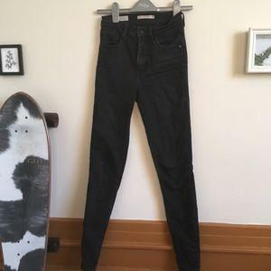 Levi's Mile high sketchy skinny jeans